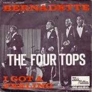Coverafbeelding The Four Tops - Bernadette