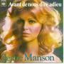 Details Jeane Manson - Avant De Nous Dire Adieu