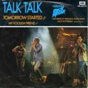 Details Talk Talk - Tomorrow Started - Live