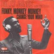 Coverafbeelding Billy Jones and The Stars - Funky, Monkey Monkey