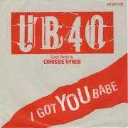 Coverafbeelding UB40 - guest vocals by Chrissie Hynde - I Got You Babe