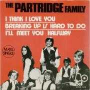 Coverafbeelding The Partridge Family starring Shirley Jones featuring David Cassidy / The Partridge Family - I Think I Love You ((1970)) / I Think I Love You [Maxi-Single] ((1972))