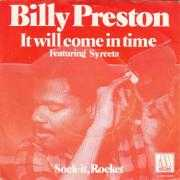 Coverafbeelding Billy Preston featuring Syreeta - It Will Come In Time