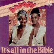 Coverafbeelding Snoopy - It's All In The Bible