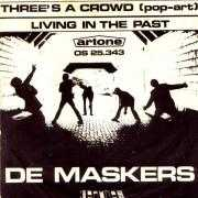 Details De Maskers - Three's A Crowd (Pop-Art)