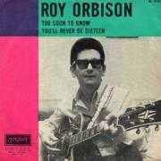 Coverafbeelding Roy Orbison - Too Soon To Know