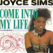 Details Joyce Sims - Come Into My Life