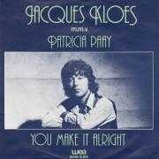 Coverafbeelding Jacques Kloes m.m.v. Patricia Paay - You Make It Alright