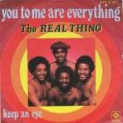 Coverafbeelding The Real Thing - You To Me Are Everything