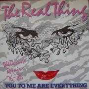 Details The Real Thing - You To Me Are Everything - The Decade Remix 76-86