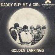 Details Golden Earrings - Daddy Buy Me A Girl