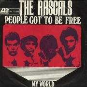 Details The Rascals - People Got To Be Free