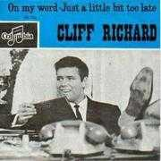 Coverafbeelding Cliff Richard - On My Word