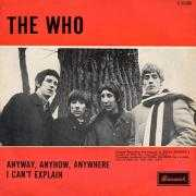 Details The Who - Anyway, Anyhow, Anywhere