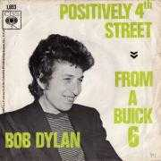 Coverafbeelding Bob Dylan - Positively 4th Street