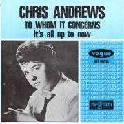 Coverafbeelding Chris Andrews - To Whom It Concerns