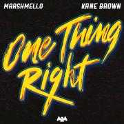 Coverafbeelding Marshmello & Kane Brown - One Thing Right