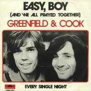 Details Greenfield & Cook - Easy, Boy (And We All Prayed Together)