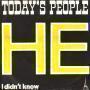 Coverafbeelding Today's People - He