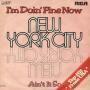 Coverafbeelding New York City - I'm Doin' Fine Now