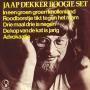 Details Jaap Dekker Boogie Set - In Een Groen Groen Knollenland - Roodborstje Tikt Tegen Het Raam