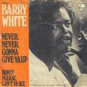 Coverafbeelding Barry White - Never, Never, Gonna Give Ya Up