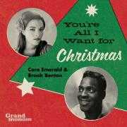 Coverafbeelding Caro Emerald & Brook Benton - You're all I want for christmas
