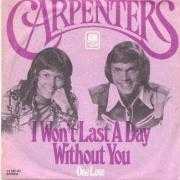 Coverafbeelding Carpenters - I Won't Last A Day Without You
