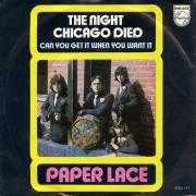 Coverafbeelding Paper Lace - The Night Chicago Died