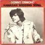 Coverafbeelding Donny Osmond - Hawaiian Wedding Song