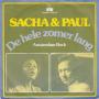 Coverafbeelding Sacha & Paul - De Hele Zomer Lang