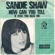 Coverafbeelding Sandie Shaw - How Can You Tell