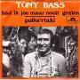 Coverafbeelding Tony Bass - Had Ik Jou Maar Nooit Gezien