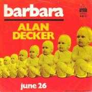 Coverafbeelding Alan Decker - Barbara