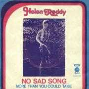 Coverafbeelding Helen Reddy - No Sad Song