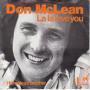Coverafbeelding Don McLean - La La Love You