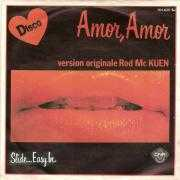 Coverafbeelding Rod Mc Kuen - Amor, Amor