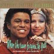 Coverafbeelding Jermaine Jackson & Pia Zadora - When The Rain Begins To Fall