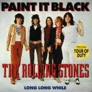 Coverafbeelding The Rolling Stones - Paint It, Black ((1966)) / Paint It Black - Titelsong Tour Of Duty ((1990))