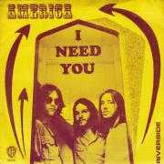 Coverafbeelding America - I Need You