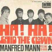 Coverafbeelding Manfred Mann - Ha! Ha! Said The Clown