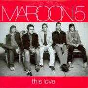 Coverafbeelding Maroon 5 - This Love