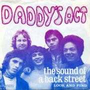 Coverafbeelding Daddy's Act - The Sound Of A Back Street