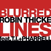 Coverafbeelding robin thicke feat. t.i. + pharrell - blurred lines