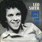 Details Leo Sayer - More Than I Can Say