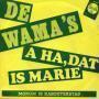 Details De Wama's - A Ha, Dat Is Marie
