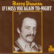 Details Barry Duncan - If I Miss You Again To-Night