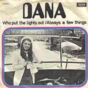 Coverafbeelding Dana - Who Put The Lights Out