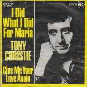 Details Tony Christie - I Did What I Did For Maria
