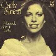 Coverafbeelding Carly Simon - Nobody Does It Better